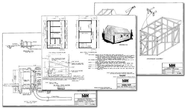 Free LSU Building Plans