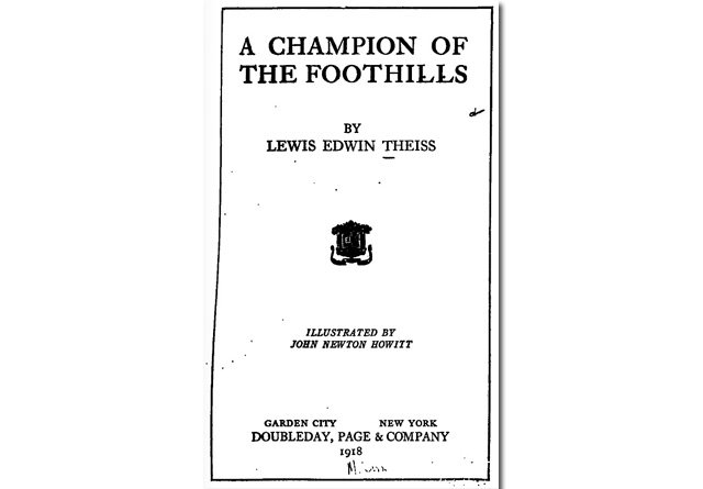 A Champion of the Foothills