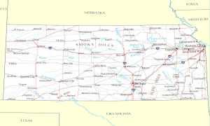 How Kansas Got Its Shape