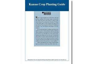 Kansas Crop Planting Guide