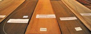Rosewood: Brazilian, Indian, Madagascar & Cocobolo