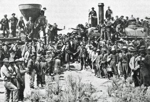 The First Trans-Continental Railroad