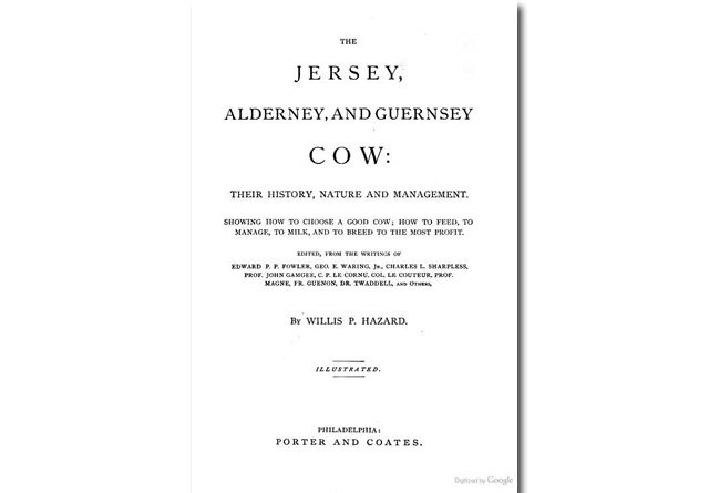 The Jersy, Alderney, and Guernsey Cow